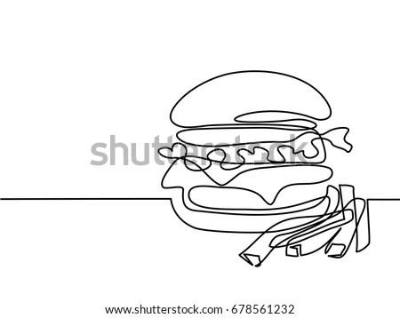 Hamburger Logo Stock Images, Royalty-Free Images & Vectors