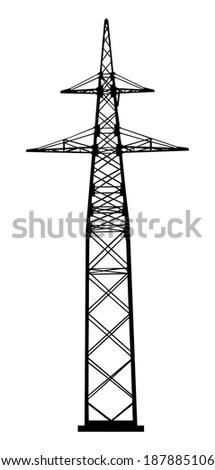 Tower Crane Build Column Diagram 3d Stock Illustration