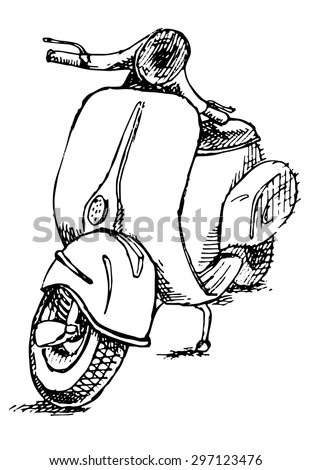 Vespa Vector Stock Images, Royalty-Free Images & Vectors