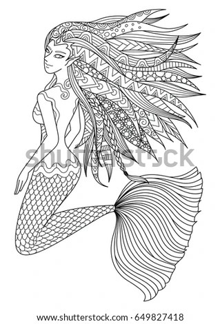 Llewellyn Worldwide Mermaids Coloring Book Product Summary