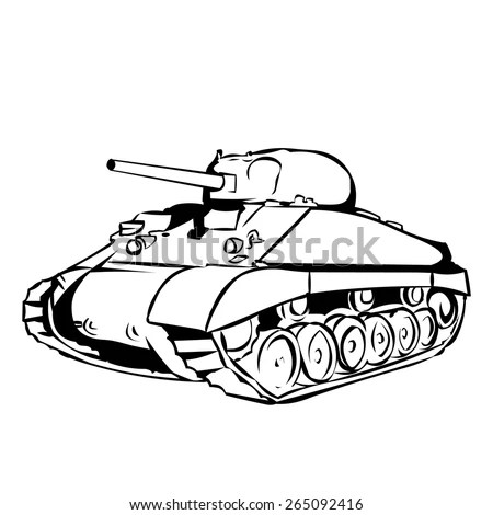 Sherman Tank Stock Images, Royalty-Free Images & Vectors