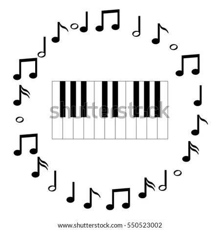 Music Instruments Icons Stock Images, Royalty-Free Images