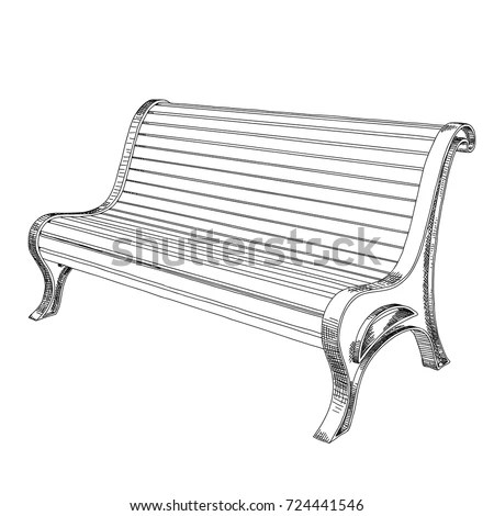 Park Sketch Stock Images, Royalty-Free Images & Vectors