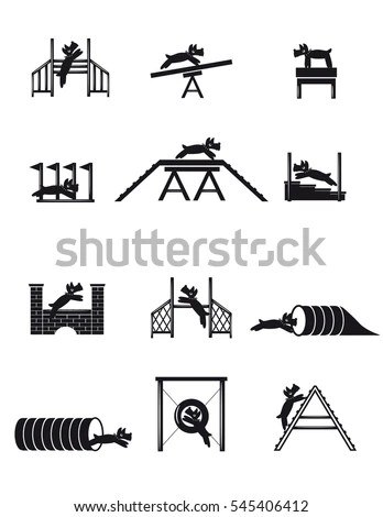 Dog Agility Stock Images, Royalty-Free Images & Vectors