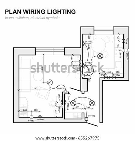 Plan Wiring Lighting Electrical Schematic Interior