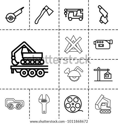 Crane Outline Stock Images, Royalty-Free Images & Vectors
