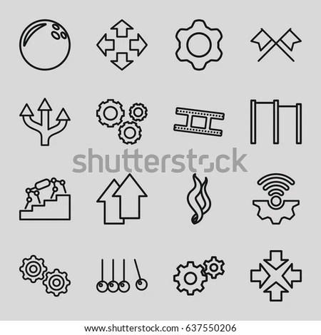 Vector Symbol Brexit Icon Set Web Stock Vector 444219400