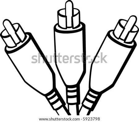 Rca Cable Stock Images, Royalty-Free Images & Vectors