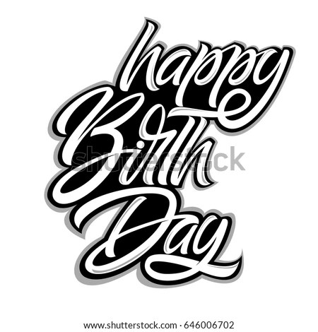 Birthday Graffiti Happy Stock Images RoyaltyFree Images
