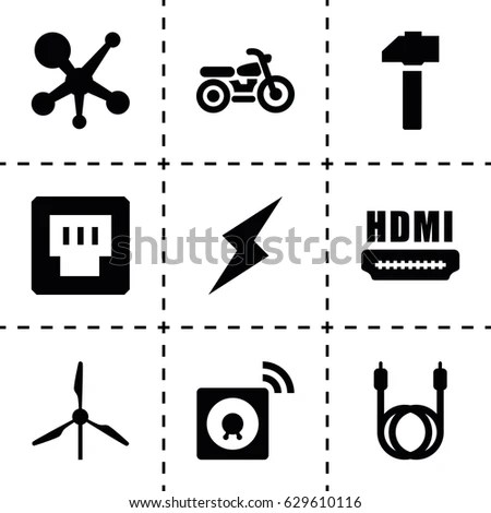 Hdmi Icon Stock Images, Royalty-Free Images & Vectors