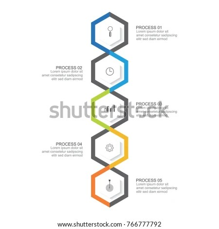 Abstract Science Background Template Beaker Orange Stock