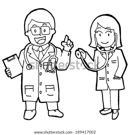 Doctor Drawing Stock Images, Royalty-Free Images & Vectors