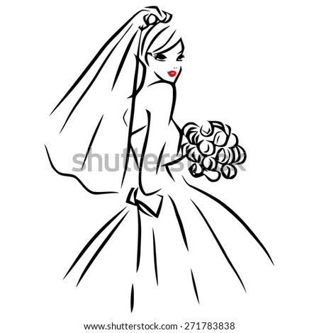 This Image Vector Illustration Line Art Stock Vector