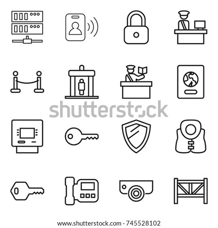Big Set 15 Icons Flat Style Stock Vector 662881669