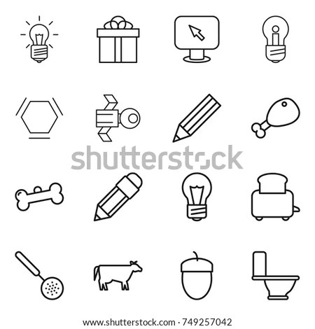 Vector Realistic Icons Ready Use Stock Vector 29261422