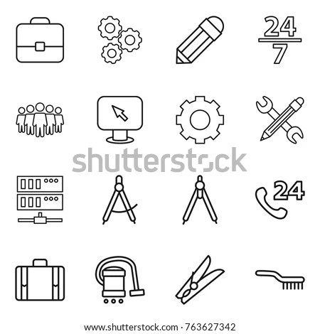 Circle Black Servers Stock Images, Royalty-Free Images