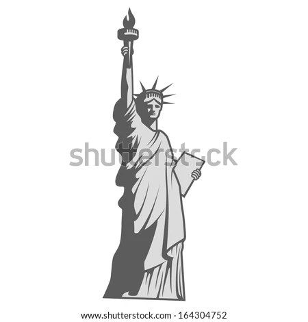 Statue of liberty vector Stock Photos Images Pictures