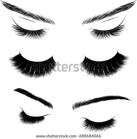 Eyelashes Stock Images, Royalty-Free Images & Vectors