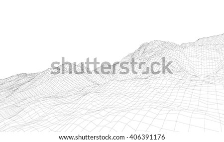 3d Wireframe Stock Images, Royalty-Free Images & Vectors