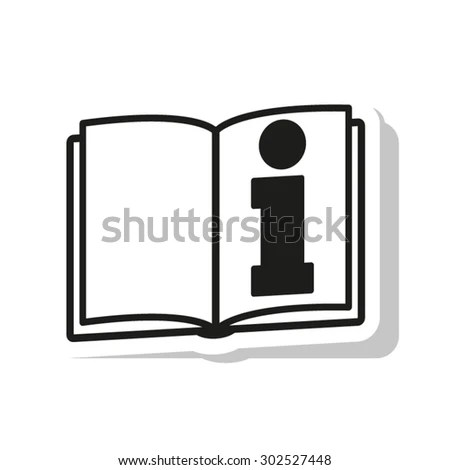 See Owners Manual Information Icon Vector Stock Vector