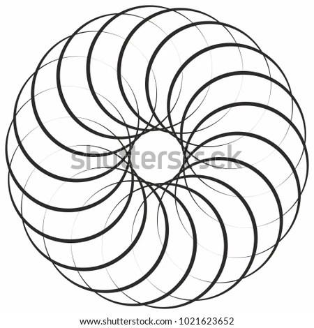 Spiral Mandala Stock Images, Royalty-Free Images & Vectors