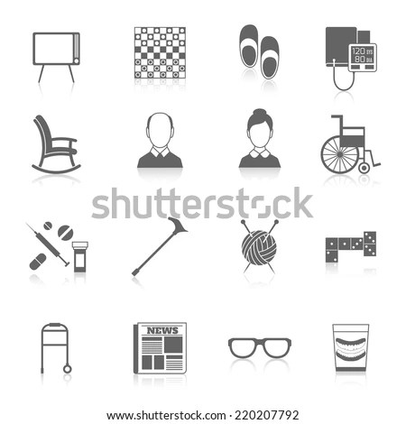 Senior Icon Stock Images, Royalty-Free Images & Vectors