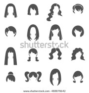 ponytail stock royalty-free