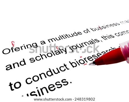 Proofreading Marks Stock Images, Royalty-Free Images