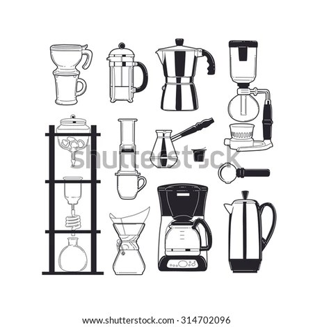 Siphon Coffee Stock Images, Royalty-Free Images & Vectors