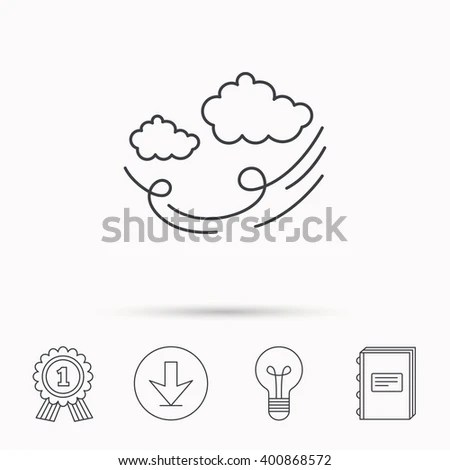 Cloud Blowing Wind Stock Images, Royalty-Free Images