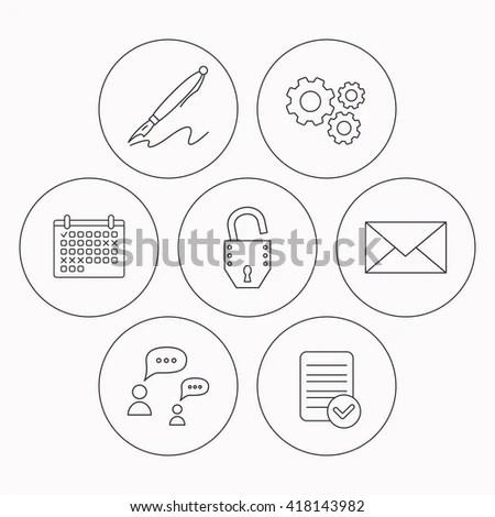 Icons Set Data Center Server Silhouette Stock Vector