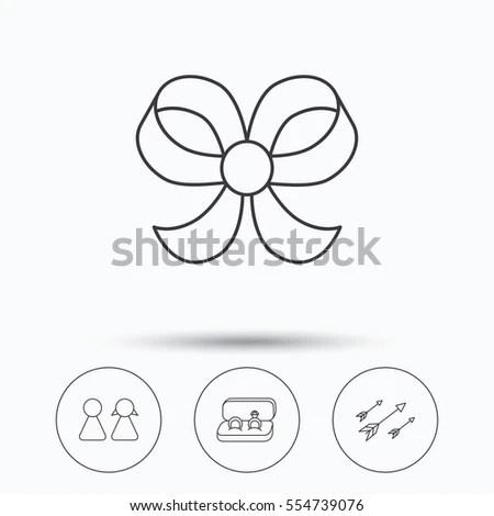 Pinwheel Line Icon Outline Vector Logo Stock Vector