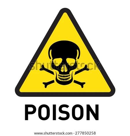 Poison Stock Vector 277850258 Shutterstock