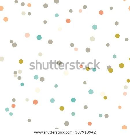 confetti dots stock royalty-free