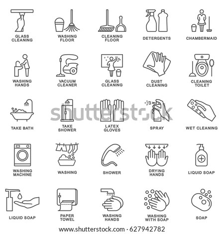 Cleaning Icon Stock Images, Royalty-Free Images & Vectors