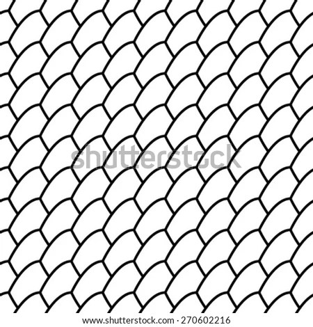 Net Pattern Rope Net Vector Silhouette 스톡 벡터 498228535