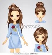 beautiful fashion girl collection