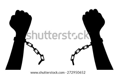 Breaking Chains Stock Images, Royalty-Free Images