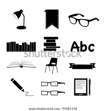 Reading Icon Stock Images, Royalty-Free Images & Vectors