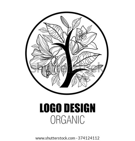 Tobacco Leaf Label Icons Set Vector Stock Vector 256929544