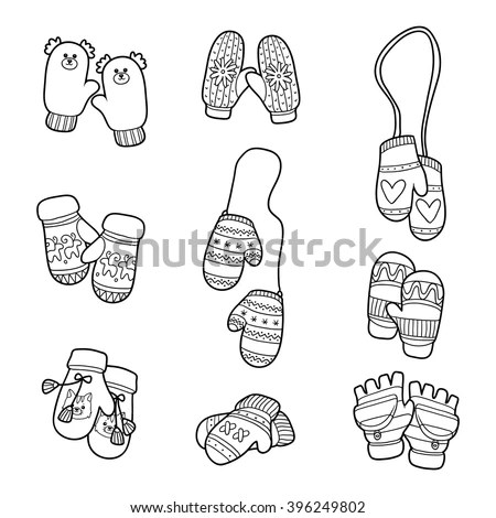 Mitten Stock Photos, Royalty-Free Images & Vectors