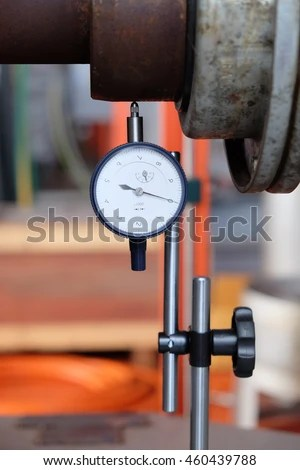 Aligning Shaft with dial indicator
