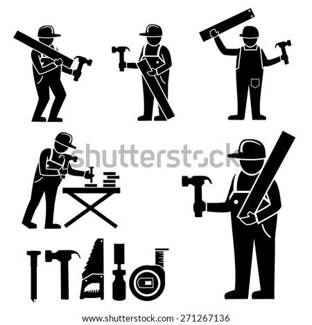 Woodworking Machinery Stock Vectors & Vector Clip Art
