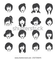woman icon stock vector 232720645