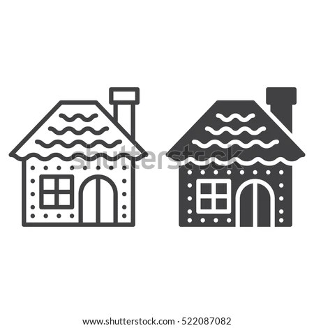Gingerbread House Stock Images, Royalty-Free Images