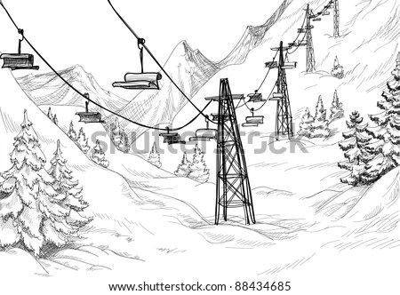 Ski Lift Stock Images, Royalty-Free Images & Vectors