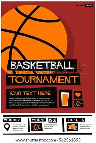 basketball tournament invitation Invitationjdico