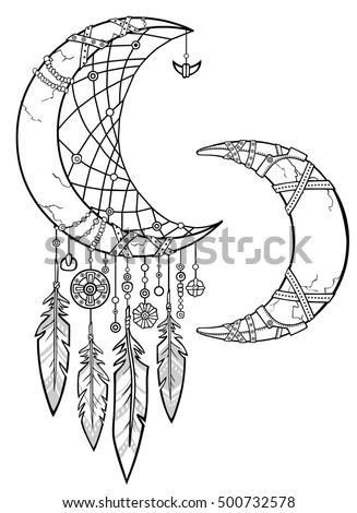 Native American Indian Talisman Dreamcatcher Feathersmagic