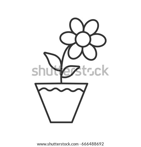 Flowerpot Stock Images, Royalty-Free Images & Vectors