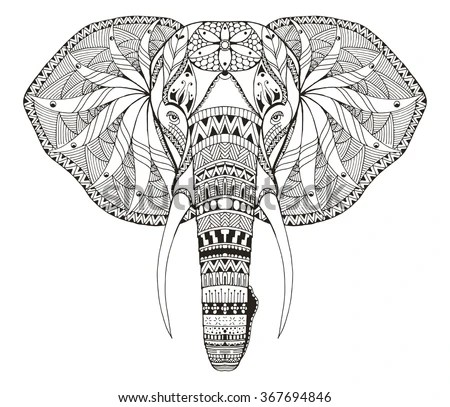 Elephant Head Stock Images Royalty Free Images Amp Vectors